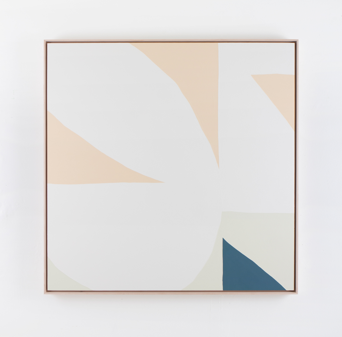 WhiteClover_2018_Acryliconpanel_36x36inches